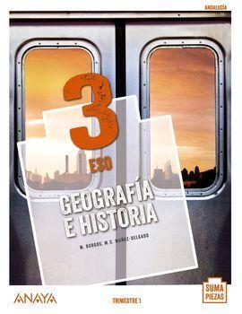 GEOGRAFÍA E HISTORIA 3. (TRIMESTRES)