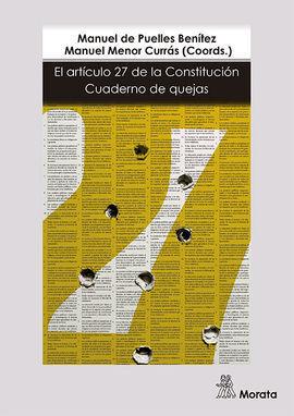 ARTICULO 27 DE LA CONSTITUCIÓN