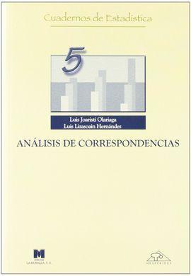ANÁLISIS DE CORRESPONDENCIAS (5)