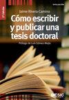 COMO ESCRIBIR Y PUBLICAR UNA TESIS DOCTORAL (2ª ED) DIVULGA