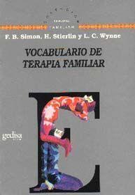 VOCABULARIO DE TERAPIA FAMILIAR