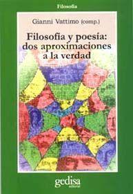 FILOSOFIA DE LA POESIA.