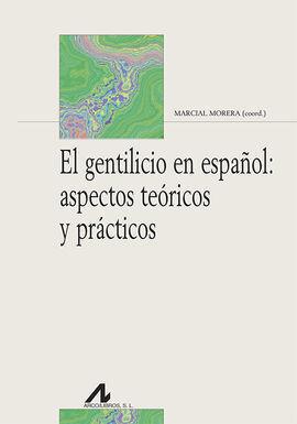EL GENTILICIO EN ESPAÑOL