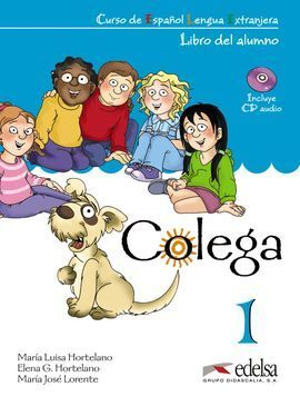 COLEGA 1 PACK LIBRO DEL ALUMNO + CD