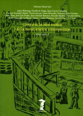 HISTORIA DE LAS IDEAS ESTÉTICAS. VOL. II