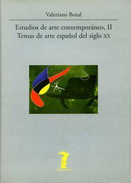 TEMAS DE ARTE ESPAÑOL DEL SIGLO XX