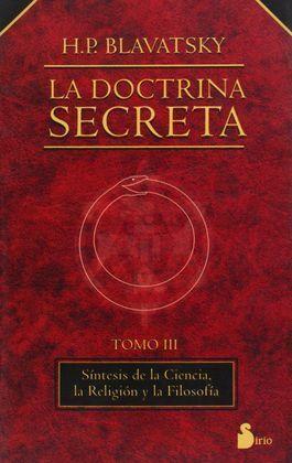 DOCTRINA SECRETA, LA  TOMO III R