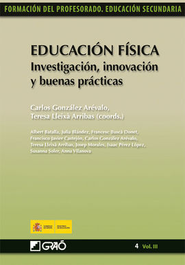 EDUCACIÓN FÍSICA. INVESTIGACIÓN, INNOVACIÓN Y BUEN