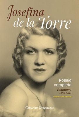 POESIA COMPLETA VOL.1 JOSEFINA DE LA TORRE