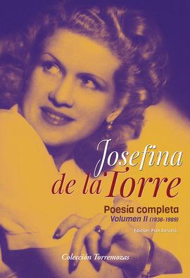 POESIA COMPLETA VOL.2 JOSEFINA DE LA TORRE