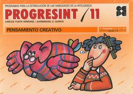 PROGRESINT 11 PENSAMIENTO CREATIVO