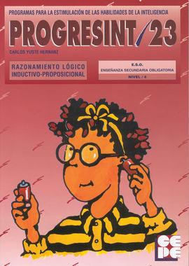 PROGRESINT 23 RAZONAMIENTO LÓGICO INDUCTIVO-PROPOSICIONAL