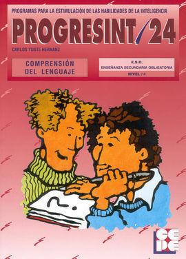 PROGRESINT 24 COMPRENSIÓN DEL LENGUAJE