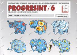 PROGRESINT 6 PENSAMIENTO CREATIVO