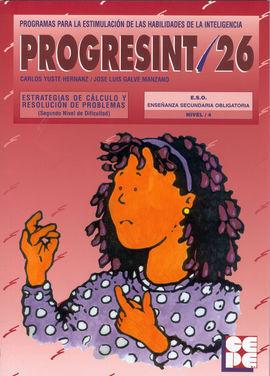 PROGRESINT 26 ESTRATEGIAS DE CÁLCULO Y RESOLUCIÓN DE PROBLEMAS