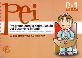 PROGRAMA PARA LA ESTIMULACIÓN DE DESARROLLO INFANTIL, NIVEL 1º