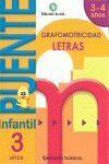 C.LETRAS 3 AÑOS-PUENTE INFANTIL