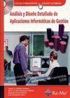 ANÁLISIS Y DISEÑO DETALLADO DE APLICACIONES INFORMÁTICAS DE GESTIÓN CON CD