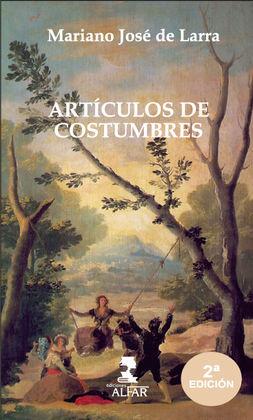 ARTÍCULOS DE COSTUMBRE