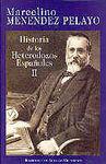 HISTORIA DE LOS HETERODOXOS ESPAÑOLES. II: PROTEST