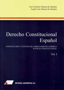 DERECHO CONSTITUCIONAL ESPAÑOL (I).