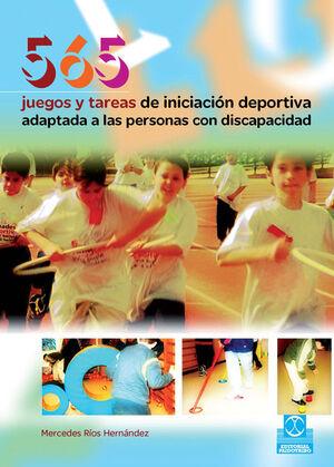 565 JUEGOS Y TAREAS DE INICIACIÓN DEPORTIVA