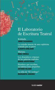 LABORATORIO DE ESCRITURA TEATRAL II