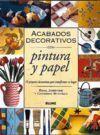 ACABADOS DECORATIVOS DE PINTURA Y PAPEL