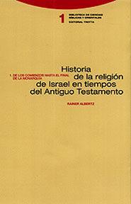 HISTORIA DE LA RELIGION DE ISRAEL, 2 VOL