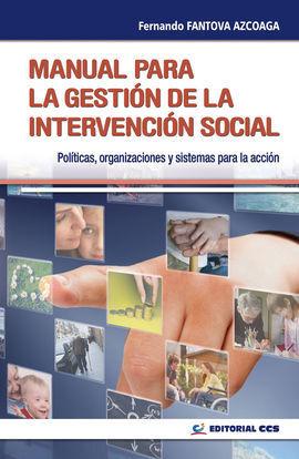 MANUAL PARA LA GESTIÓN DE LA INTERVENCIÓN SOCIAL