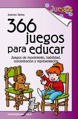 366 JUEGOS PARA EDUCAR
