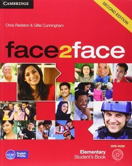 FACE 2 FACE ELEMENTARY  STUDENT'S BOOK WITH DVD-ROM AND HANDBOOK WITH AUDIO 2ND EDITION 2013