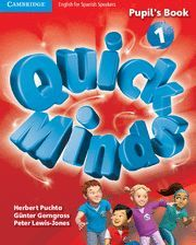 QUICK MINDS LEVEL 1 PUPIL'S BOOK WITH ONLINE INTERACTIVE ACTIVITIES