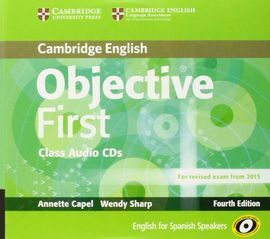 OBJECTIVE FIRST CERTIFICATE CLASS AUDIO CD 4RTH EDITION