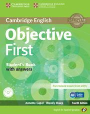 OBJECTIVE FIRST ST+KEY+100 TIPS+CD 2014 ESS