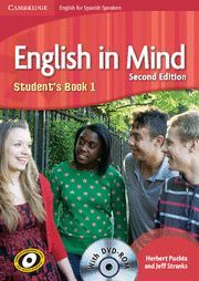 ENGLISH IN MIND FOR SPANISH SPEAKERS, ESO, LEVEL 1