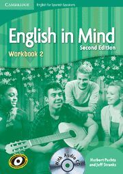 ENGLISH IN MIND 2 WORBOOK + CD