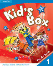 KID'S BOX FOR SPANISH SPEAKERS  LEVEL 1 PUPIL'S BOOK WITH MY HOME BOOKLET 2ND ED