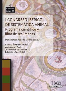 I CONGRESO IBÉRICO DE SISTEMÁTICA ANIMAL