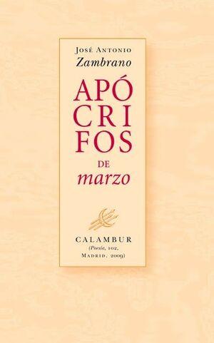 APOCRIFOS DE MARZO, 102 (POESIA)