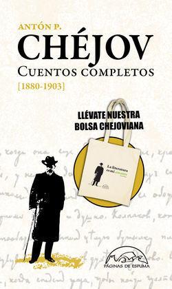 CUENTOS COMPLETOS CHÉJOV 4VOLS. - ESTUCHE