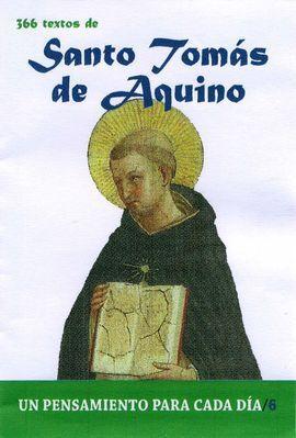 SANTO TOMAS DE AQUINO-UN PENSAMIENTO PARA CADA DIA