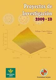 PROYECTOS DE INVESTIGACIÓN, 2009-2010