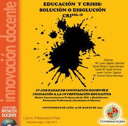 IV JORNADAS DE INNOVACIÓN DOCENTE E INICIACIÓN A LA INVESTIGACIÓN EDUCATIVA. MAS