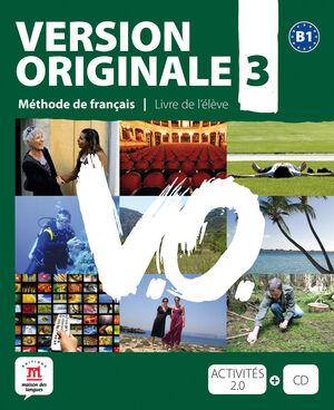 VERSION ORIGINALE B1 - LIBRO DEL ALUMNO + CD + DVD