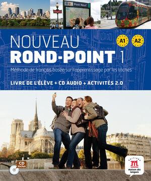 NOUVEAU ROND-POINT 1 LIBRO DEL ALUMNO NIVEL A1 Y A2
