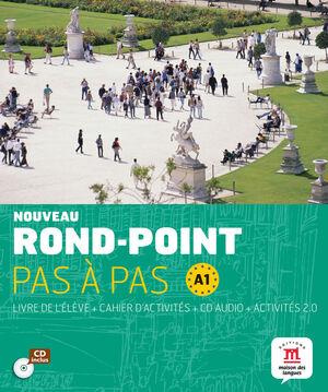 ROND-POINT PAS A PAS - LIBRO DEL ALUMNO + CUADERNO