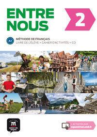 ENTRE NOUS 2 - LIVRE DE L ELEVE + CAHIER D ACTIVITES + CD