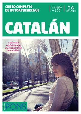 CURSO PONS CATALAN 1 LIBRO + 2 CD