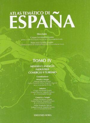 ATLAS TEMATICO ESPAÑA TOMO IV